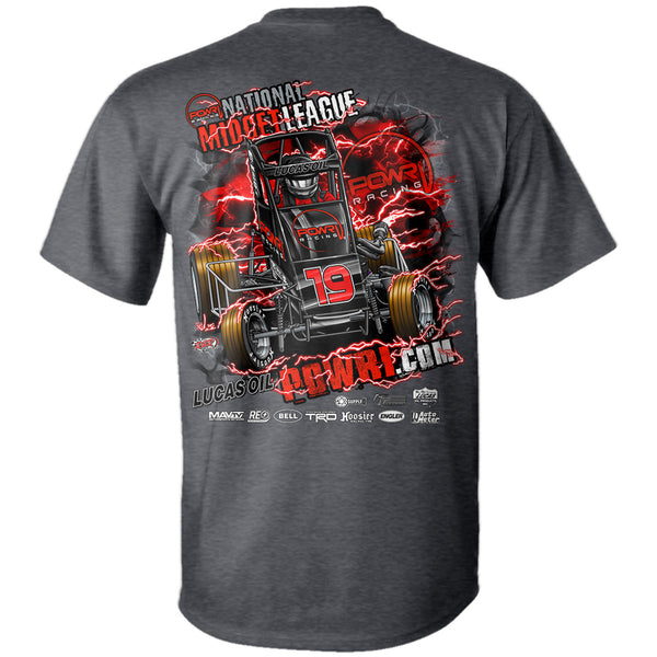 "POWRi ""2019 National Midget Series"" T-Shirt"