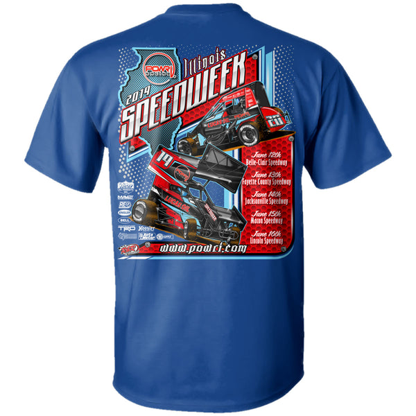 "POWRi ""Illinois Speedweek"" T-Shirt"