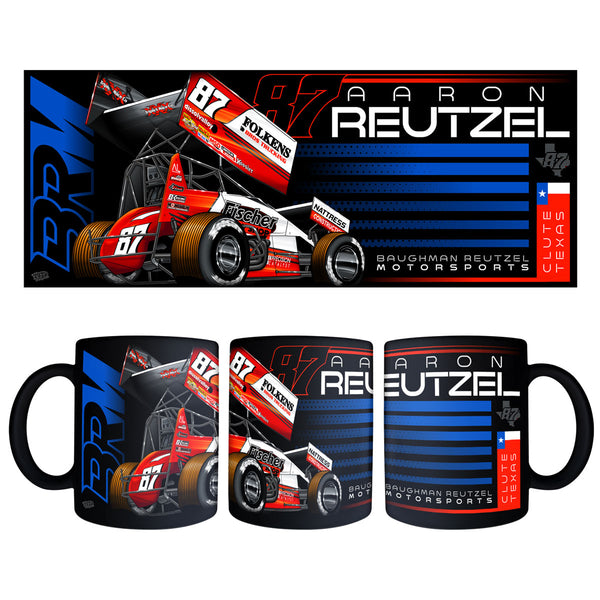 "Aaron Reutzel ""Established"" Black Mug"