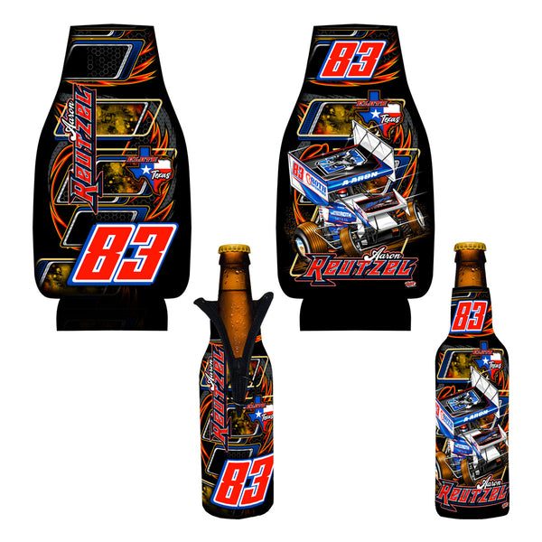 "Aaron Reutzel ""Outlaw"" Bottle Coozie"