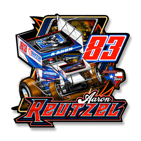 "Aaron Reutzel ""Outlaw"" Decal"
