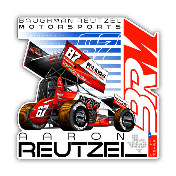 "Aaron Reutzel ""Established"" Decal"