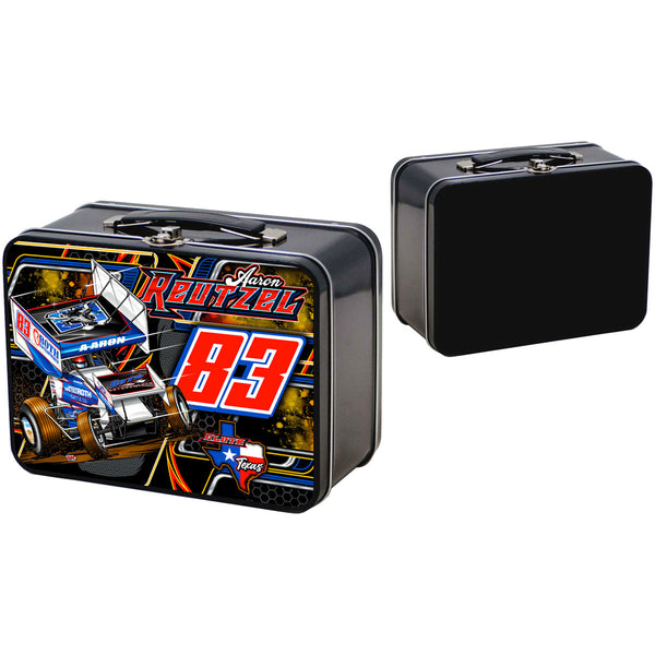 "Aaron Reutzel ""Outlaw"" Retro Lunchbox"