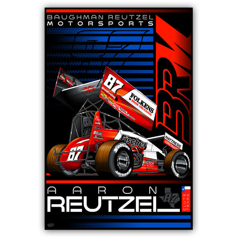 "Aaron Reutzel ""Established"" Poster"