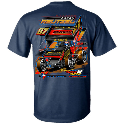 "Aaron Reutzel ""2x All-Star Champ"" T-Shirt"