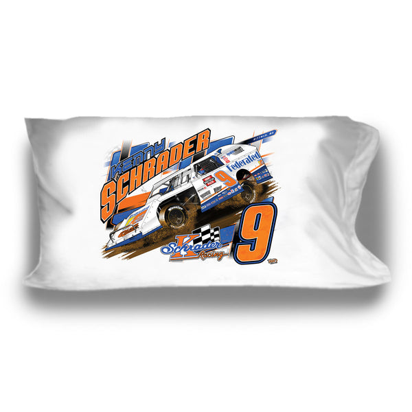 "Ken Schrader ""3 Wheelin'"" Pillow Case"