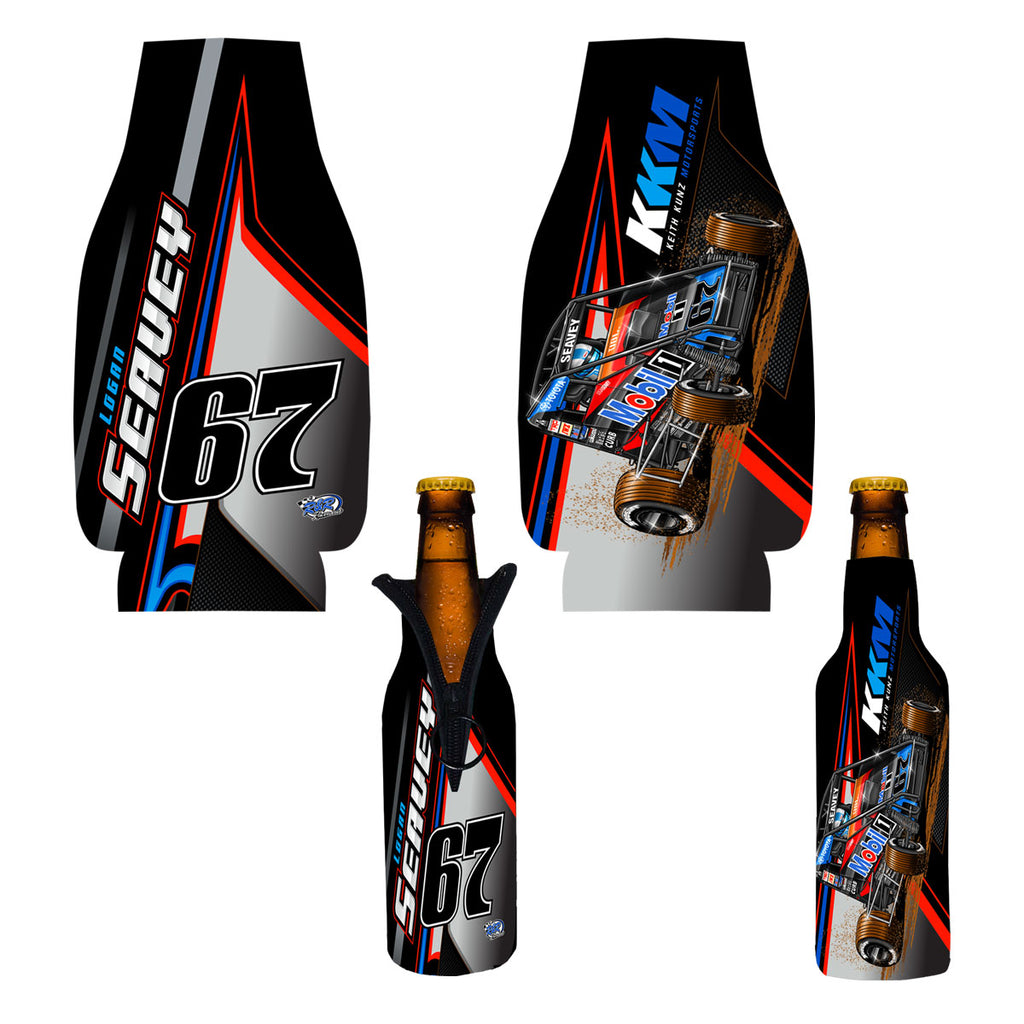"Logan Seavey ""Proven"" Bottle Coozie"