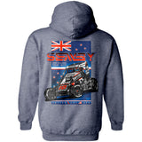 "Logan Seavey ""New Zealand Swing"" Hoodie"
