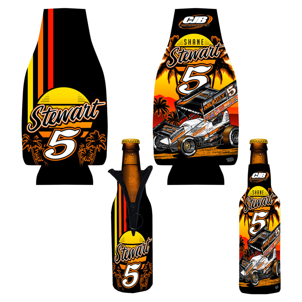 "Shane Stewart ""Speedwave"" Bottle Coozie"