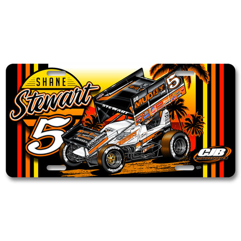 "Shane Stewart ""Speedwave"" License Plate"