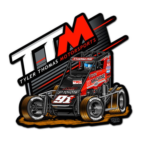 "Tyler Thomas ""One By One"" Decal"