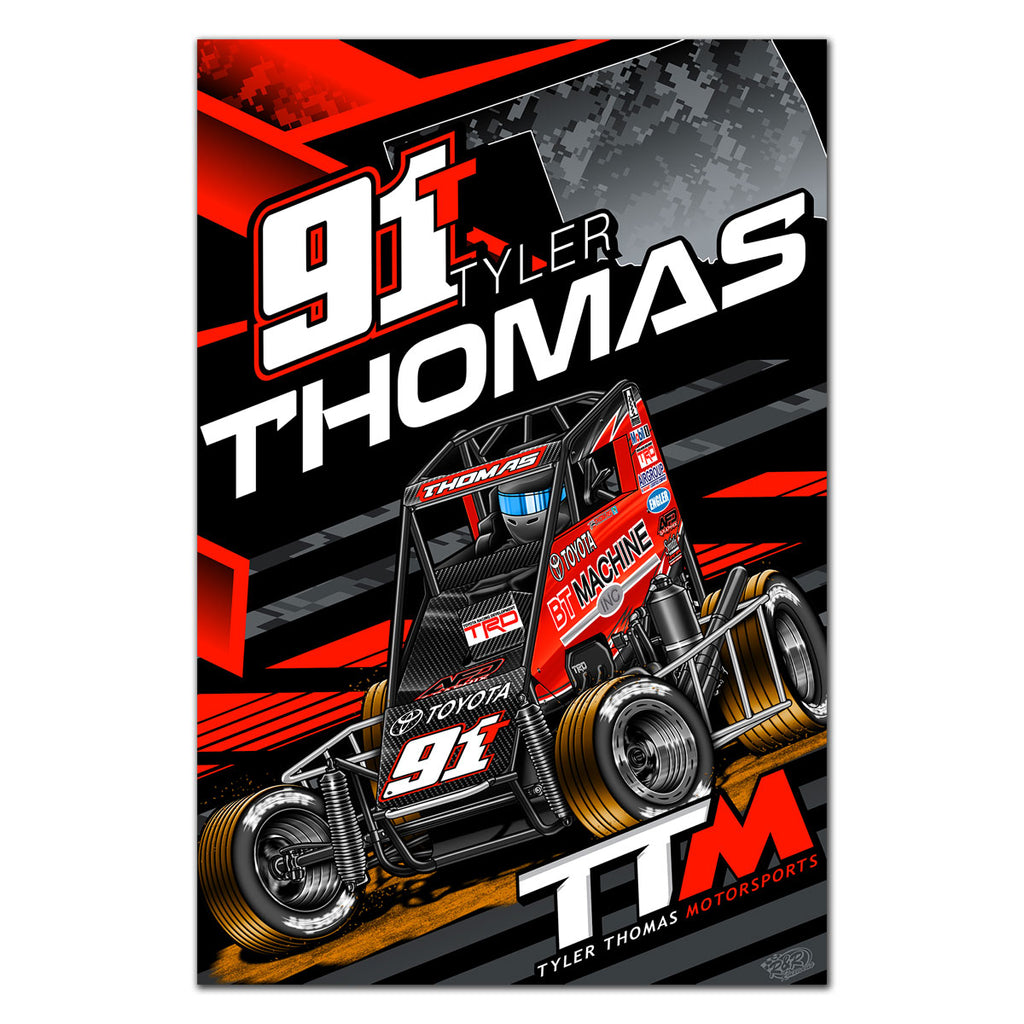 "Tyler Thomas ""One By One"" Poster"