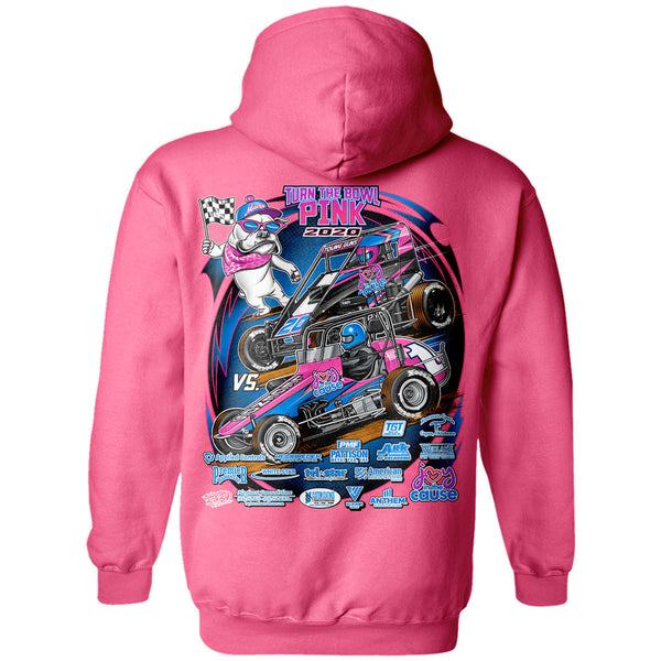 Turn The Bowl Pink 2020 Hoodie