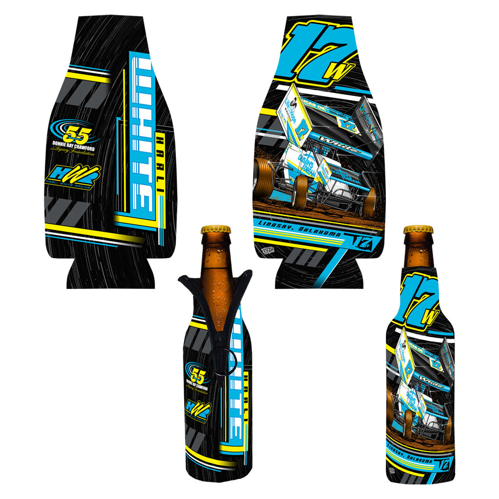 "Harli White ""Speed Dreamin'"" Bottle Coozie"