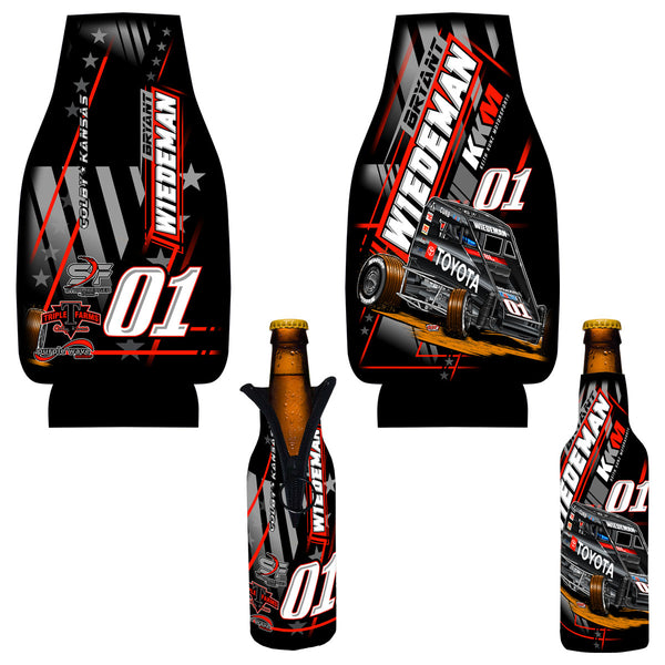 "Bryant Wiedeman ""Gassing it Up"" Bottle Coozie"