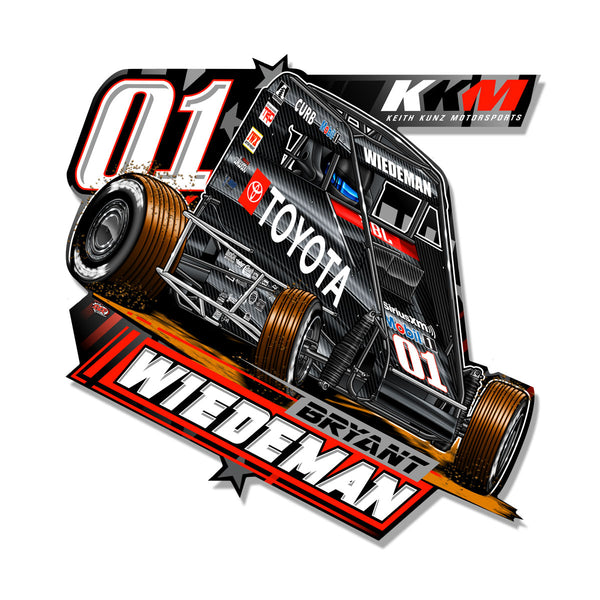 "Bryant Wiedeman ""Gassing it Up"" Decal"
