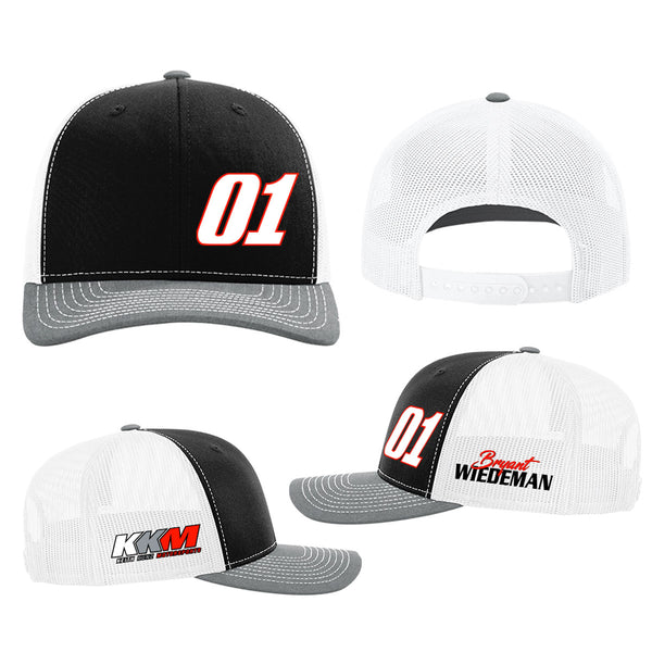 "Bryant Wiedeman ""Gassing it Up"" Snapback Mesh Hat"