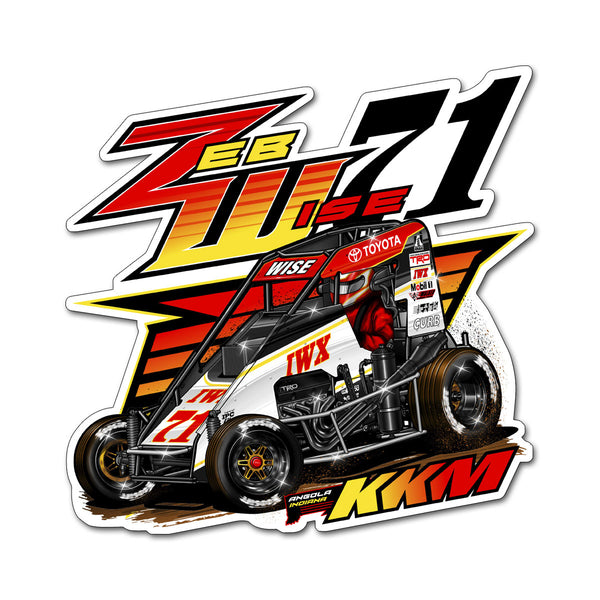 "Zeb Wise ""Making a Statement"" Decal"