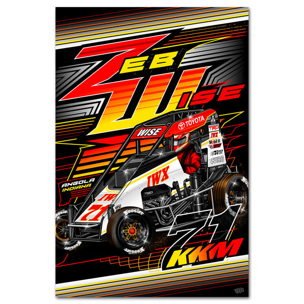 "Zeb Wise ""Making a Statement"" Poster"