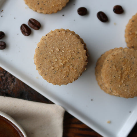 Espresso Shortbread Cookies Made In Vermont