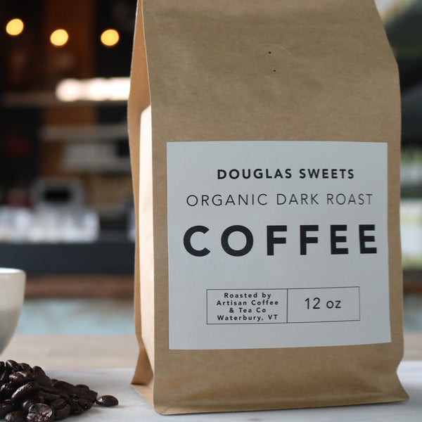 Organic Dark Roast Coffee Beans Roasted In Vermont