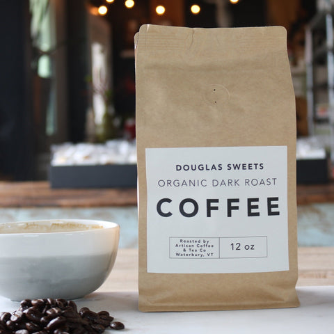 Organic Dark Roast Coffee Beans - Douglas Sweets