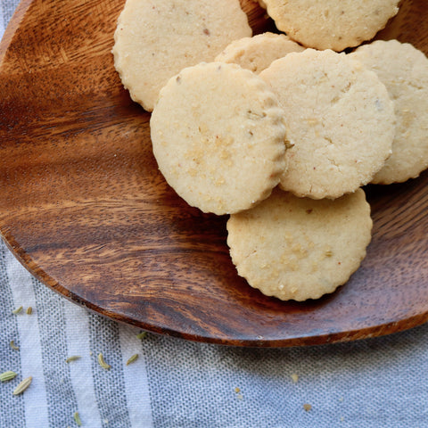 Fennel and Anise Shortbread Cookies Made in Vermont