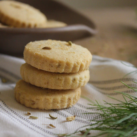 Fennel & Anise Shortbread