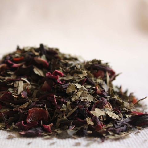 loose leaf hibiscus berry tea - ice tea - Buy online.