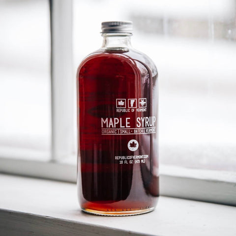 Vermont Organic Maple Syrup 16 oz - Douglas Sweets
