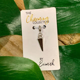 The Charming Collection Silver Cone Charm