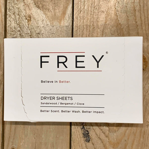 Frey Sandalwood/Bergamot/Clove Dryer Sheets