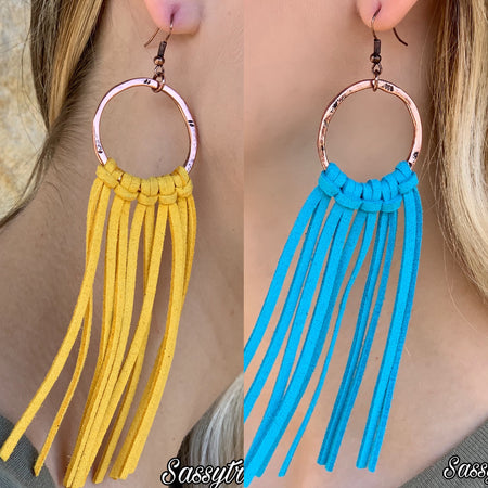 Treasure Jewels Coral multi fiesta Tassel