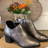 Pewter Distress Booties