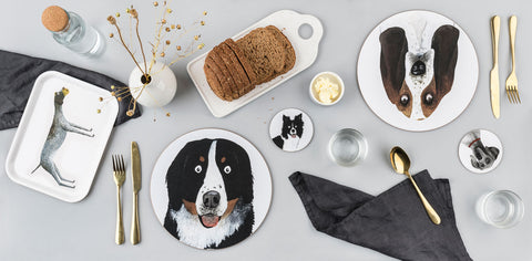Dog Placemats and Coasters