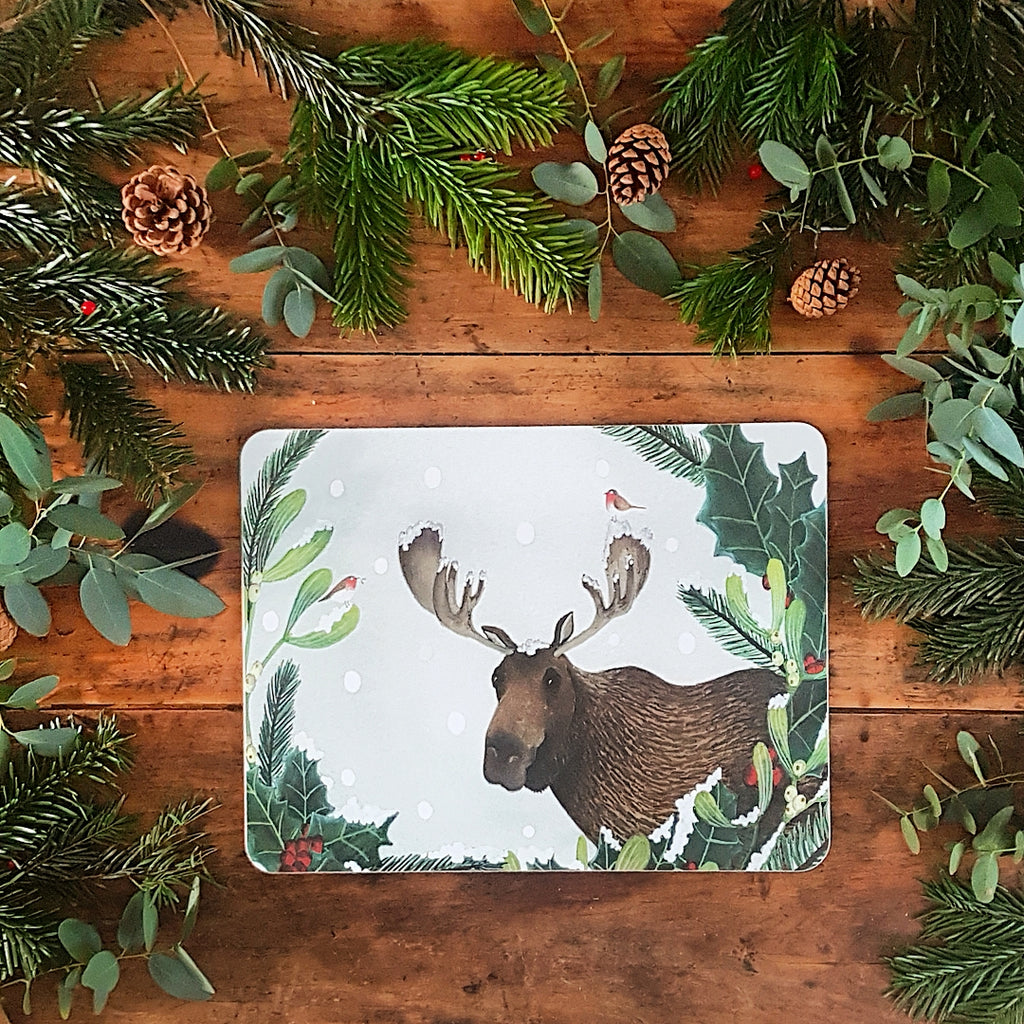Christmas Moose Tablemat