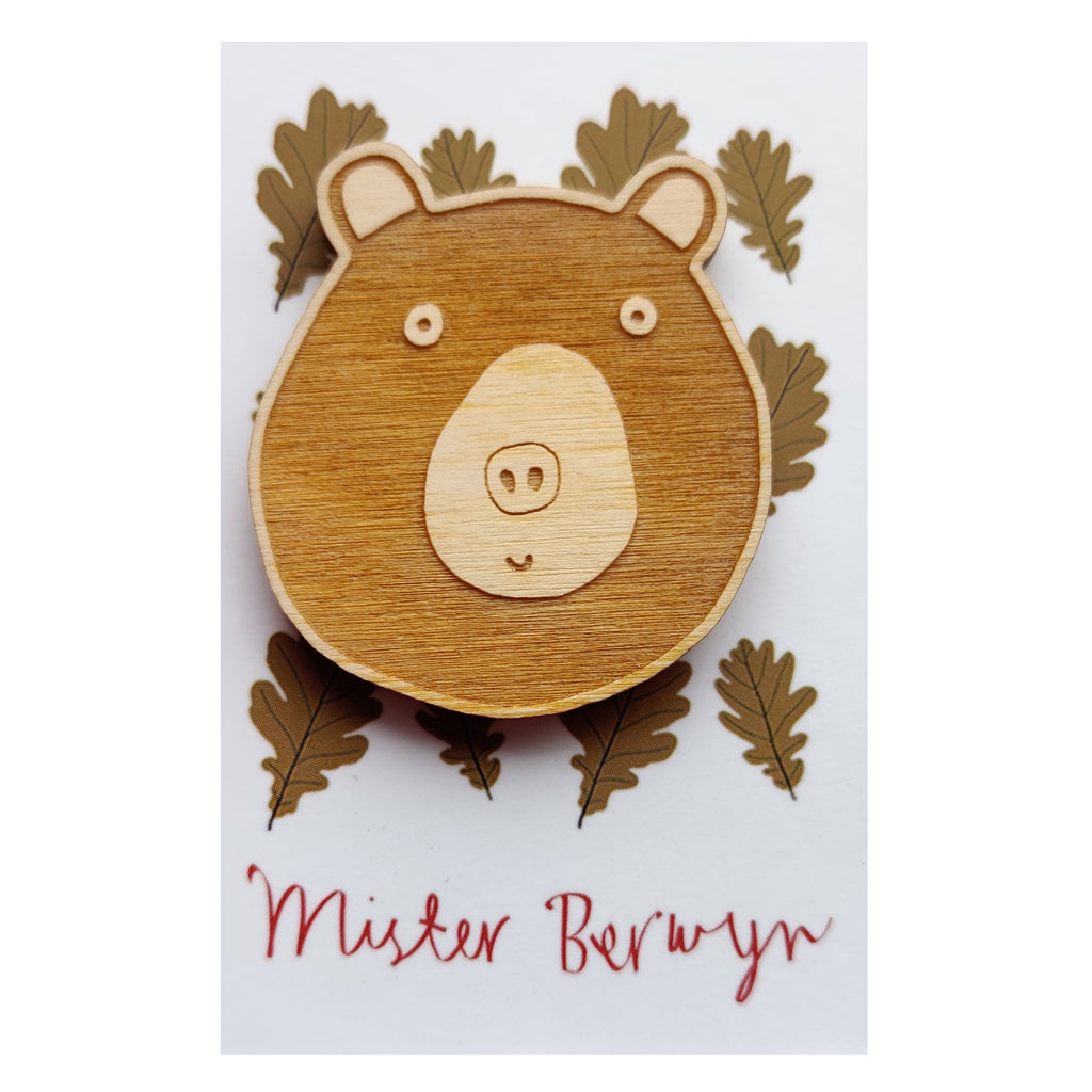 Miss Bear Brooch