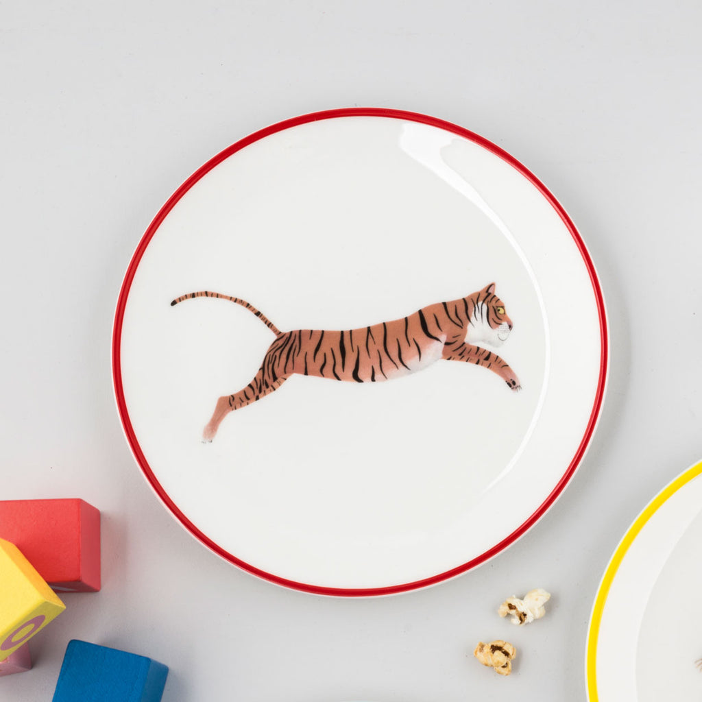 SALE Tiger Plate