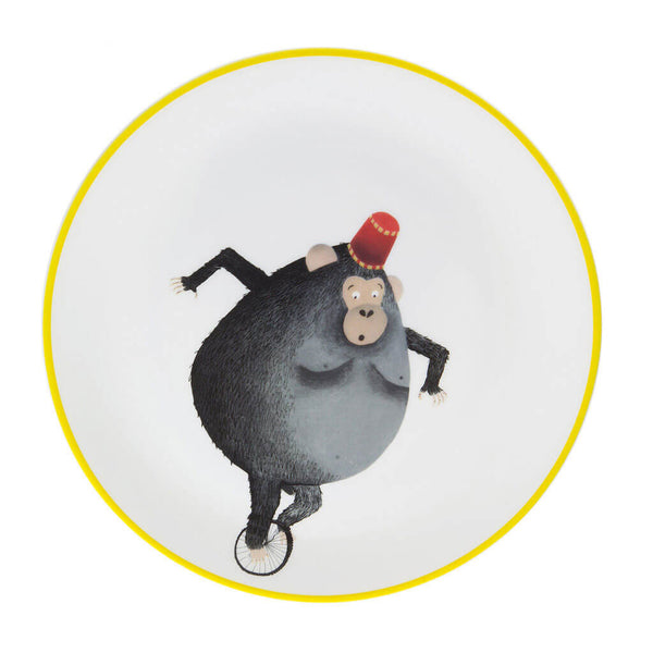 Cycling Monkey Plate