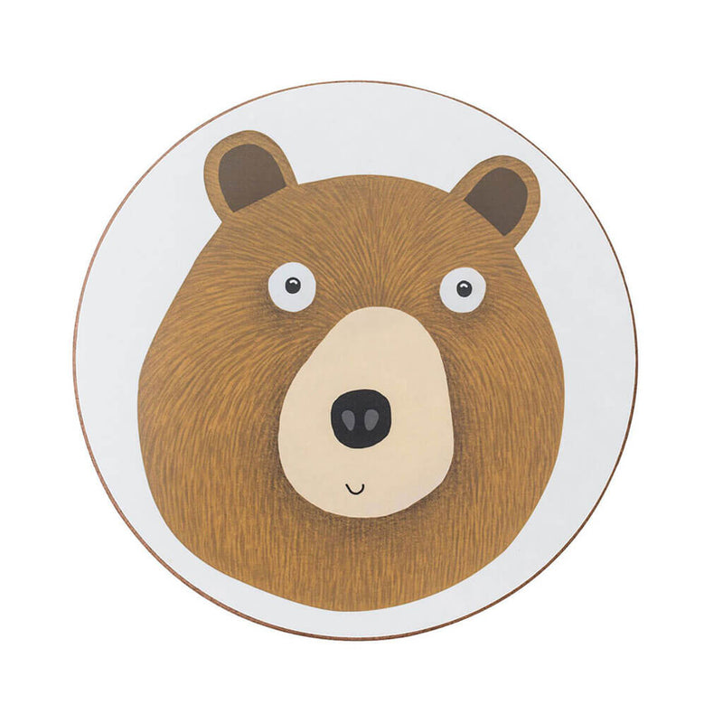 Miss Bear Coaster
