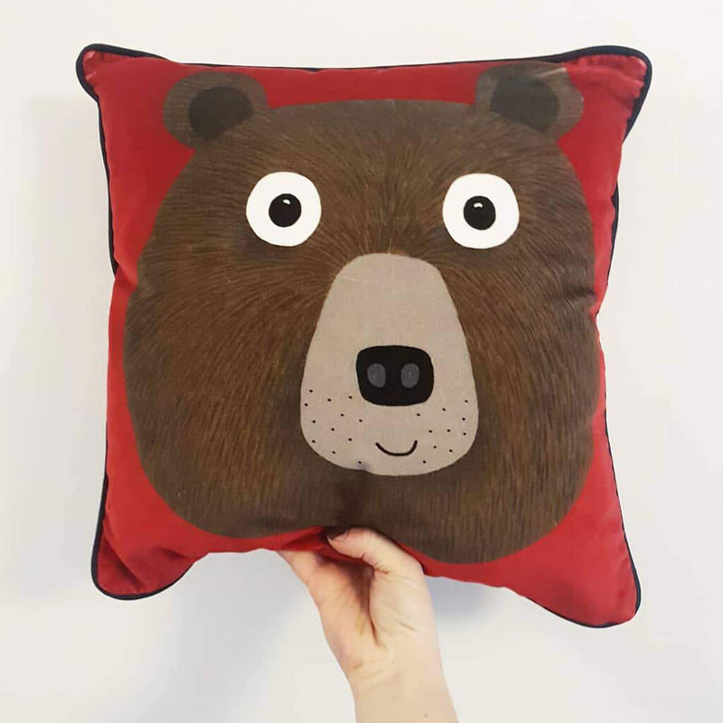 Mister Bear Cushion