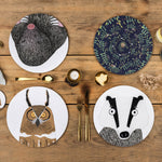 Nocturnal Animal Placemat Sets