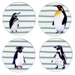 Penguin Waddle Set of Four Coasters
