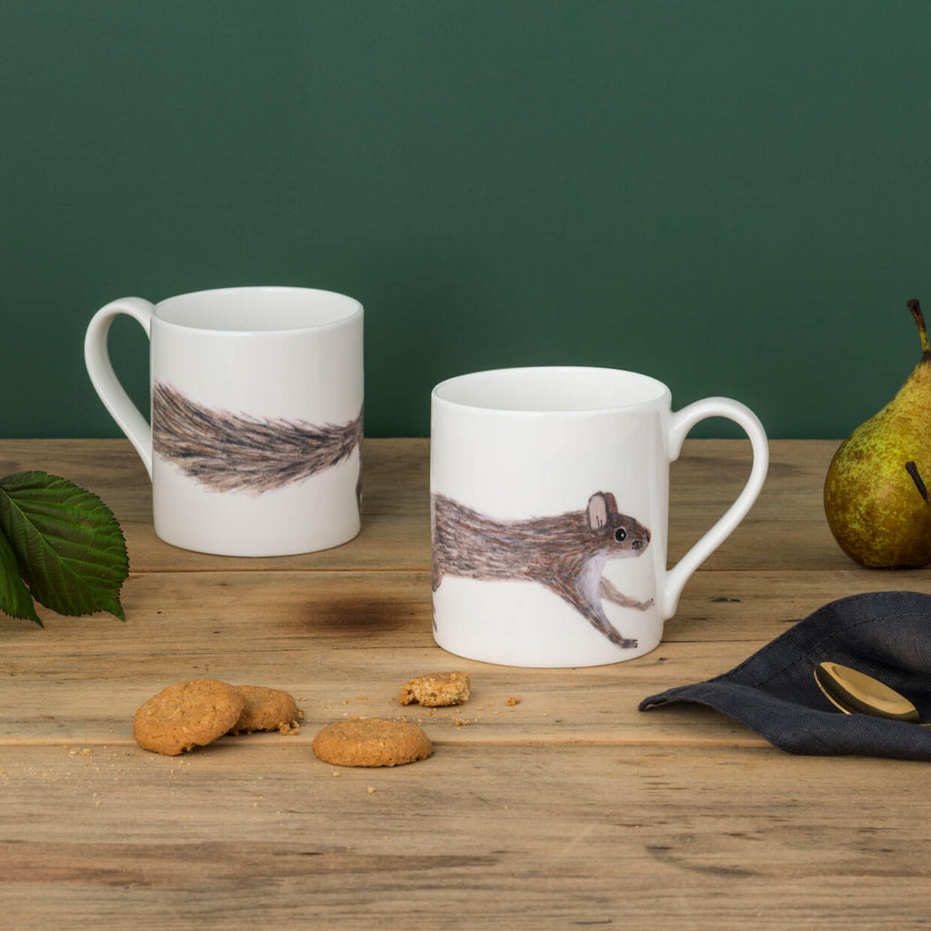 Leaping Squirrel Mug