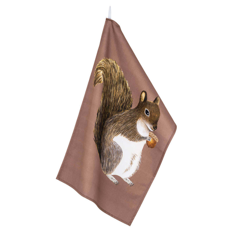 Big Squirrel Tea Towel