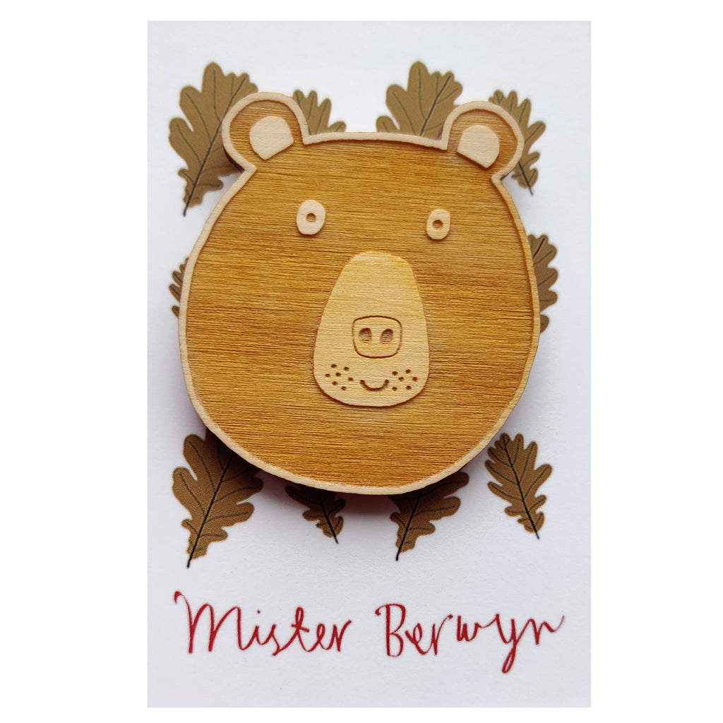 Mister Bear Brooch