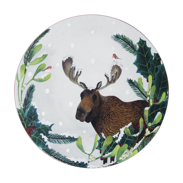 Christmas Moose Placemat