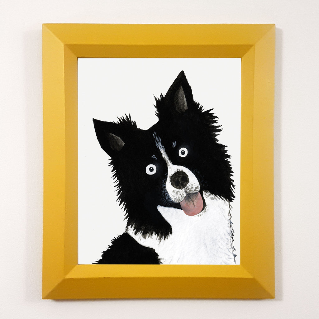 Colin The Collie Print
