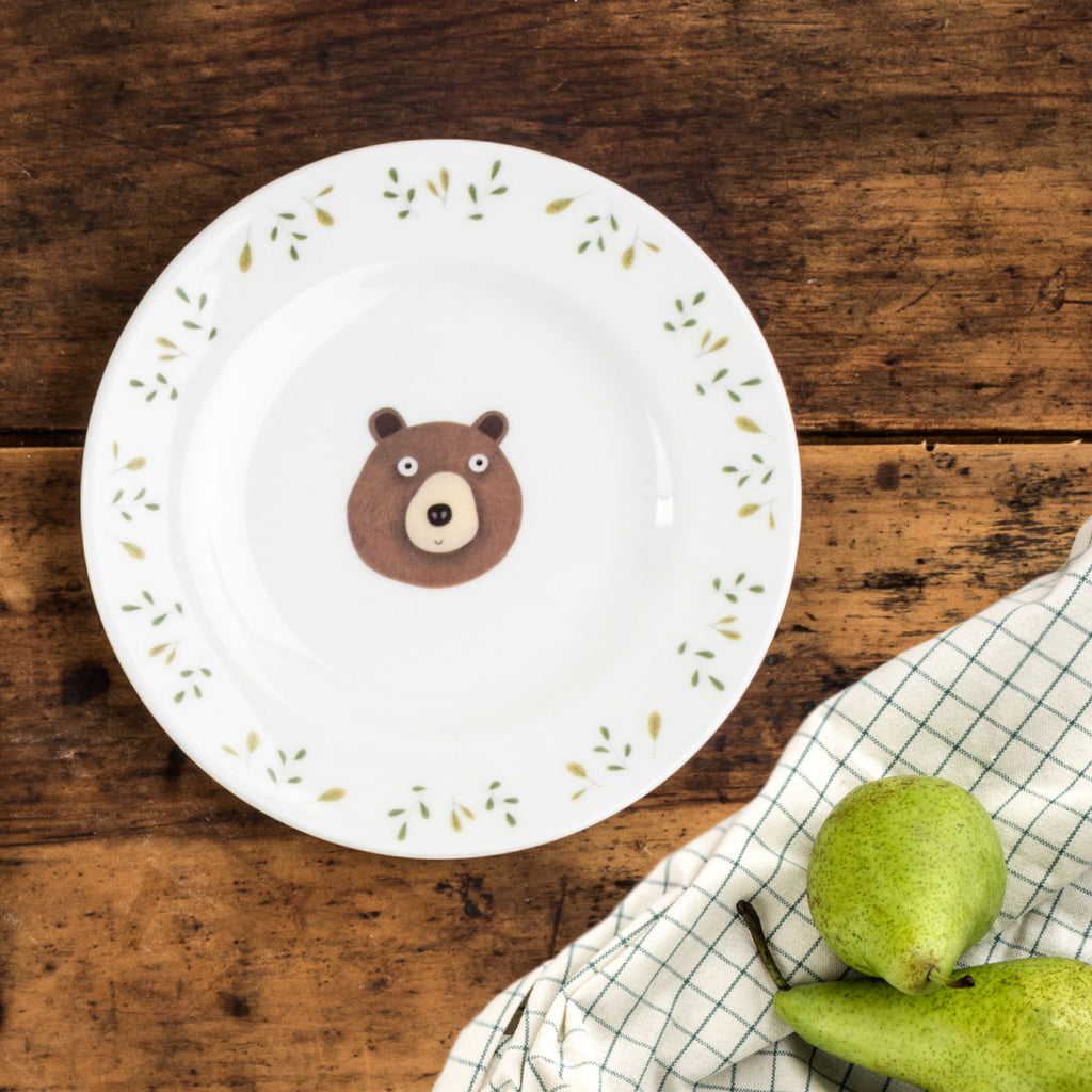 SALE Miss Bear Side Plate
