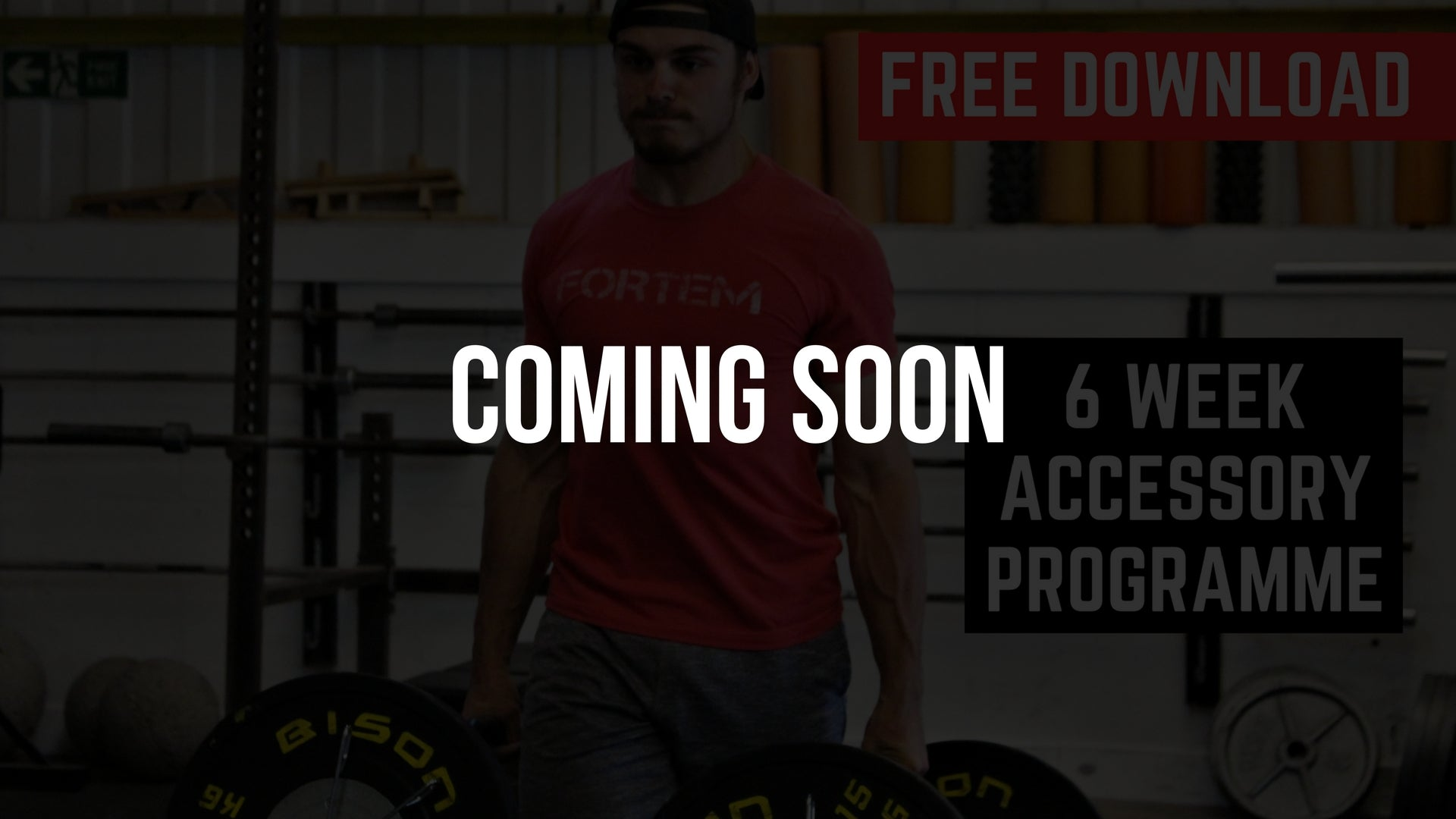 Fortem Training Free 6 Week CrossFit Accessory Movement Programme